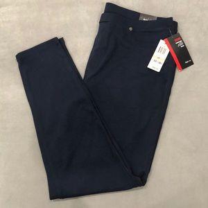 Style & Co Women's Navy Blue Leggings-Size 2x